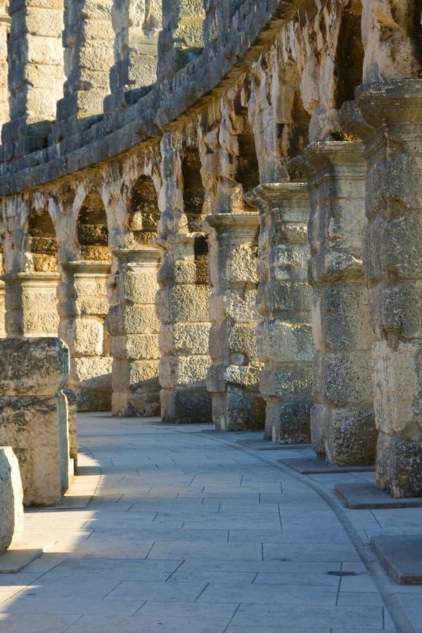 Amfiteatr Pula, Chorwacja obraz stock