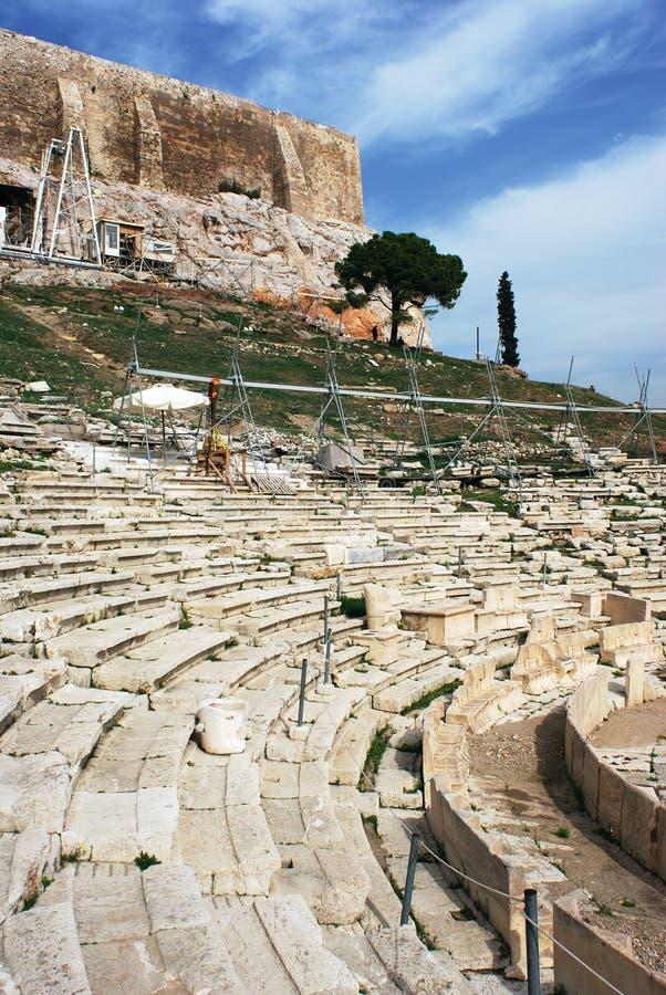 amfiteatr ruiny zdjęcie stock