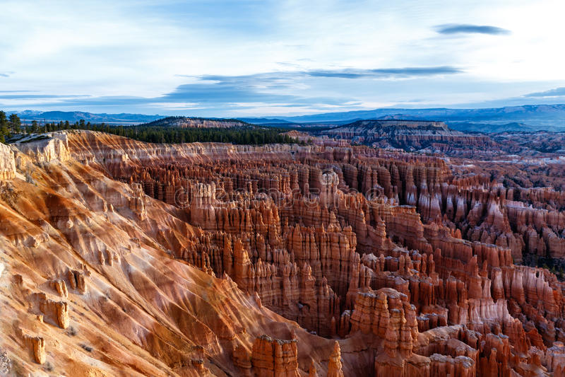 ` amfiteatru hoodoos w Bryka jarze i `, Utah obraz stock