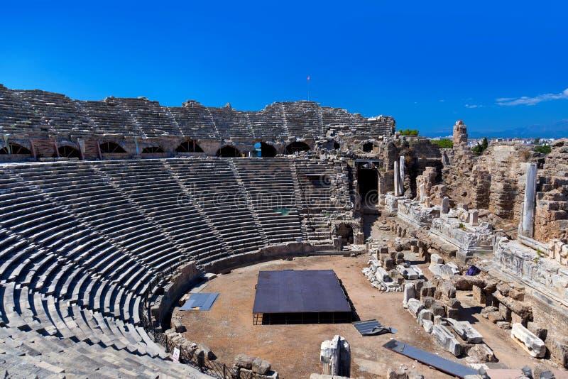 Amfiteatru Indyk Stary Boczny Obrazy Stock