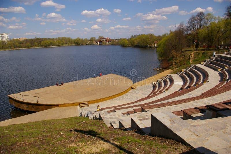 amfiteatrze wody fotografia royalty free