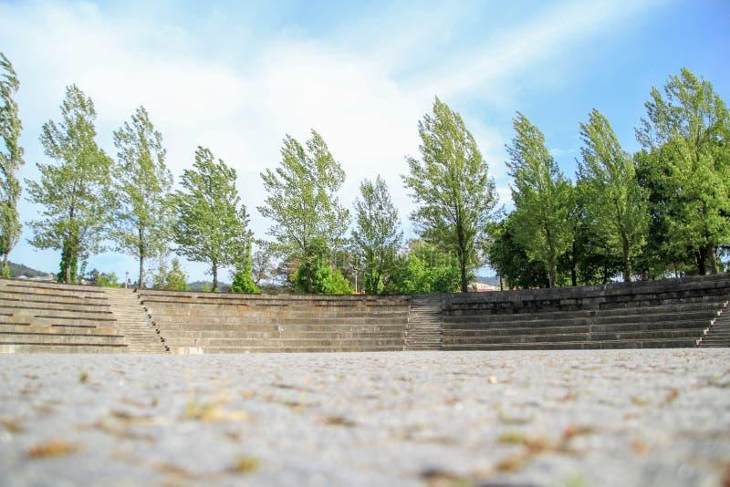 Amfitheater van cultuur royalty-vrije stock afbeeldingen
