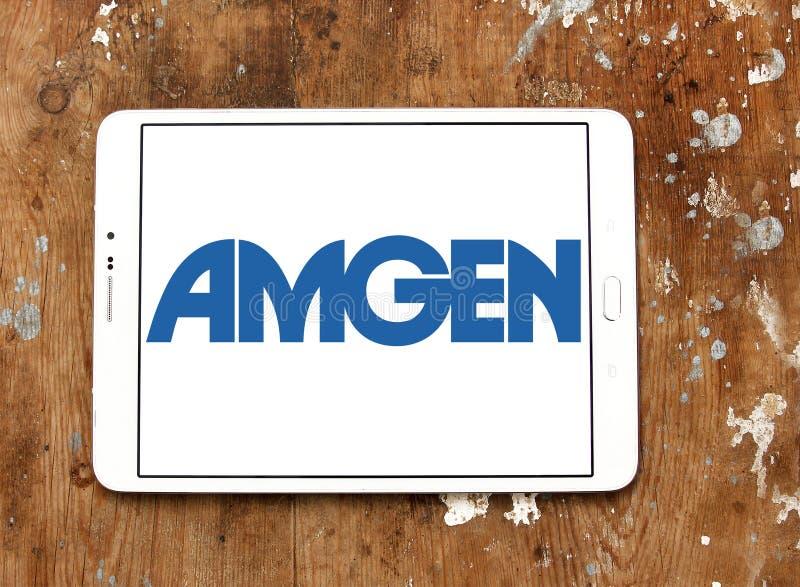 Amgen Pharmaceutical Company Logo Editorial Photo - Image of