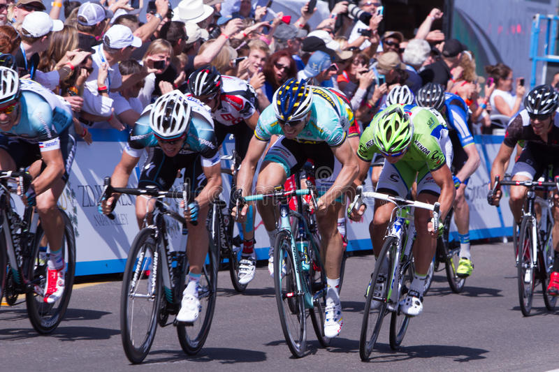 Amgen Tour of California royalty free stock images