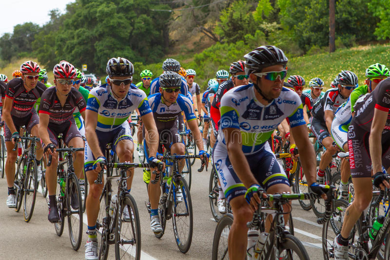 Amgen Tour of California stock photo
