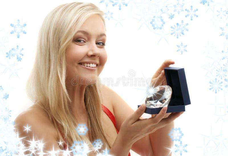 Ami de Noël de la fille photos libres de droits