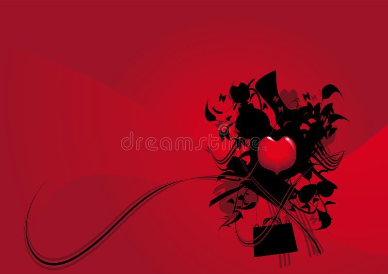 Download Amiamo il modo naturale. illustrazione vettoriale. Illustrazione di valentine - 3875342