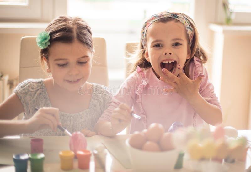 Amiamo Pasqua immagini stock libere da diritti