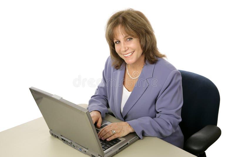 Amical exécutif femelle photo stock