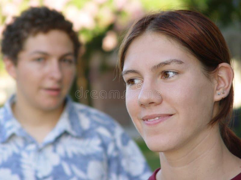 Amici immagine stock