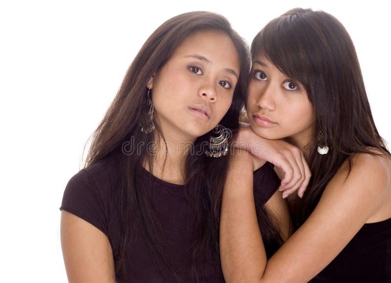 Amici teenager fotografie stock
