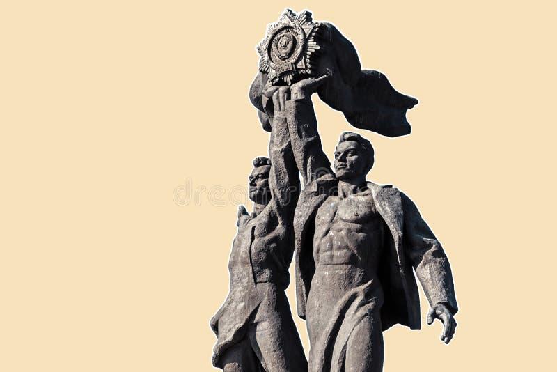 Amicizia del monumento di nazioni a Kiev fotografia stock