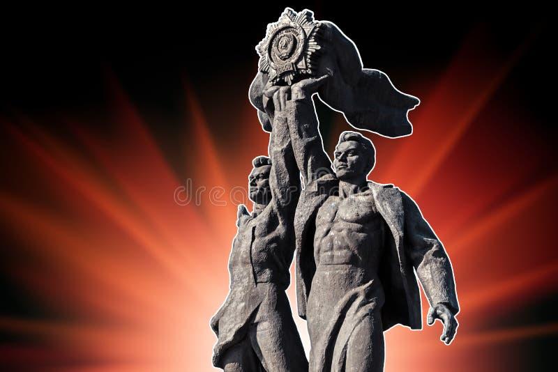 Amicizia del monumento di nazioni a Kiev fotografia stock libera da diritti