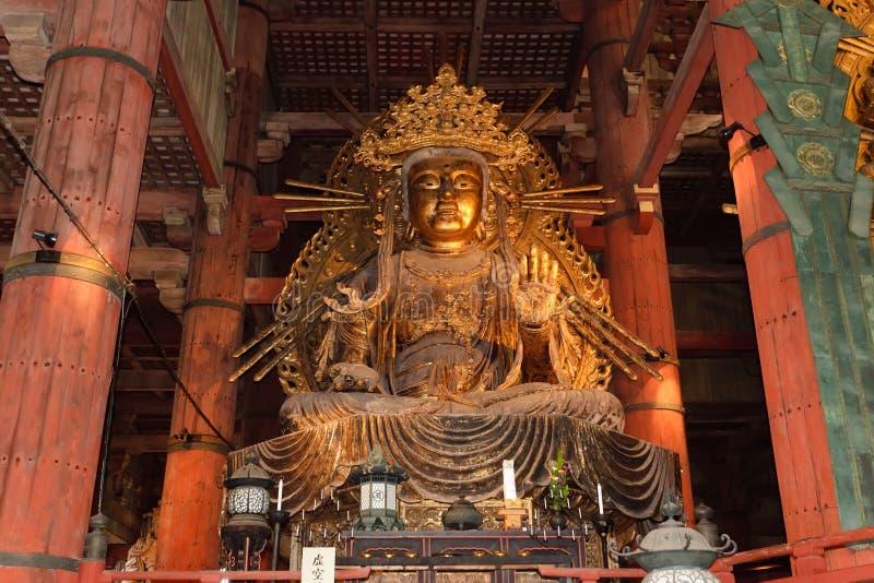 Amida Buddha Statue stockbilder