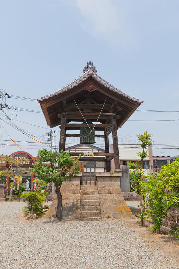 Amida-ji świątynia w Aizuwakamatsu, Japonia zdjęcia royalty free