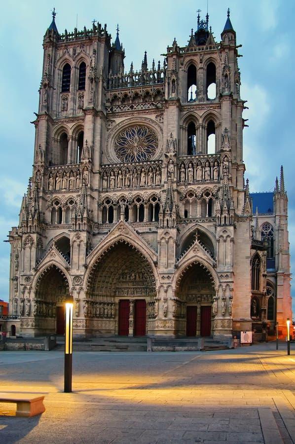 amiens καθεδρικός ναός στοκ φωτογραφίες με δικαίωμα ελεύθερης χρήσης