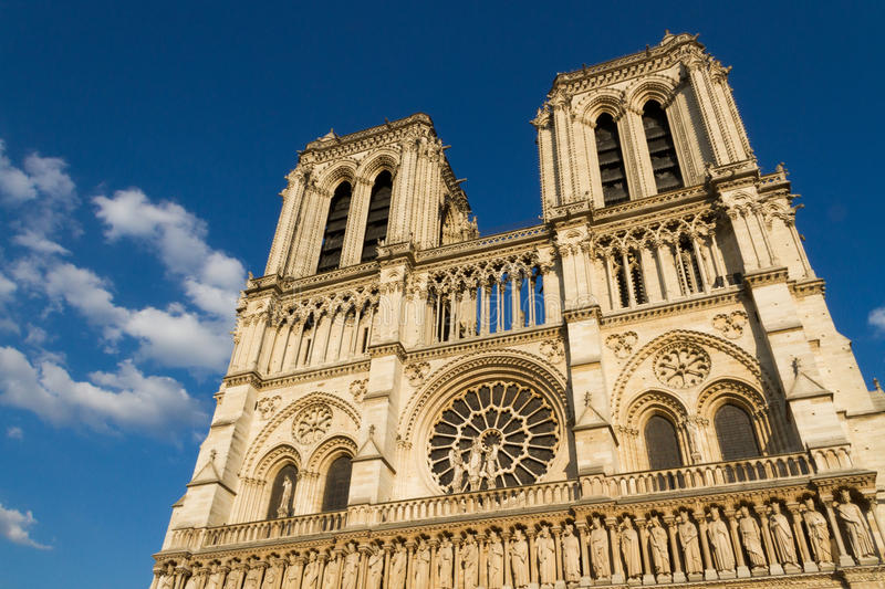 Amiens Cathedral (Notre Dame) stock image
