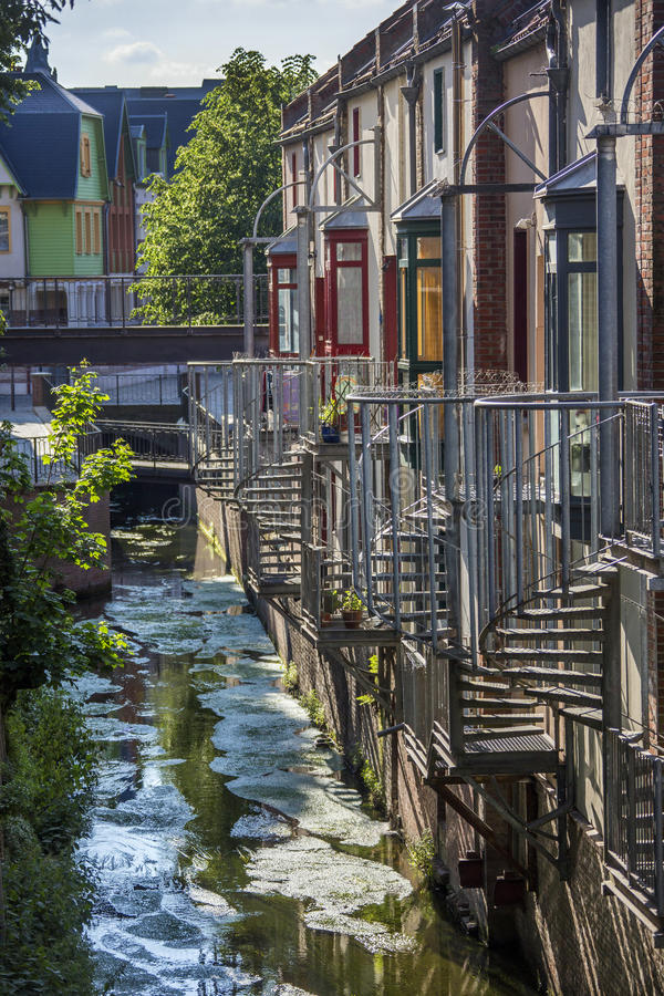 Download Amiens - Picardy - France stock image. Image of stream - 27030339