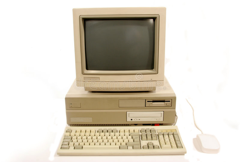 Amiga 2000 Computer. Commodore Amiga 2000 PC from 1980s