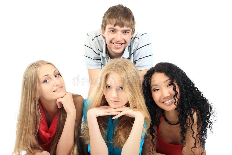 Download Amigos foto de stock. Imagem de caucasiano, diversidade - 10052354