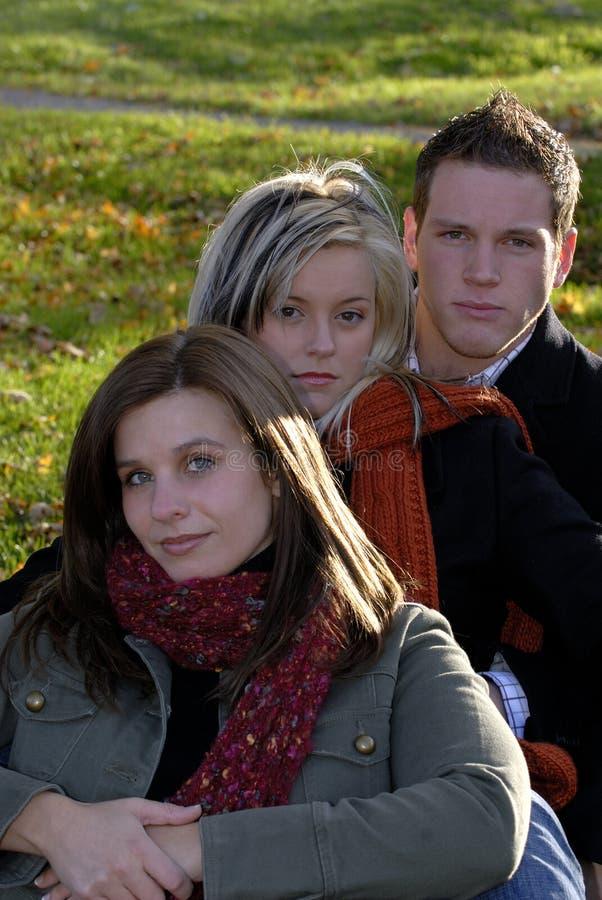 Amigos 2 fotografía de archivo libre de regalías