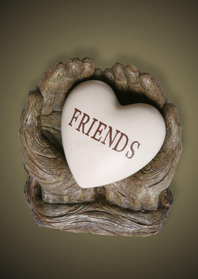 Amigos fotografía de archivo libre de regalías