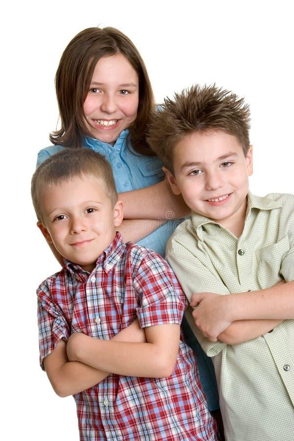 Amigos das crianças fotografia de stock