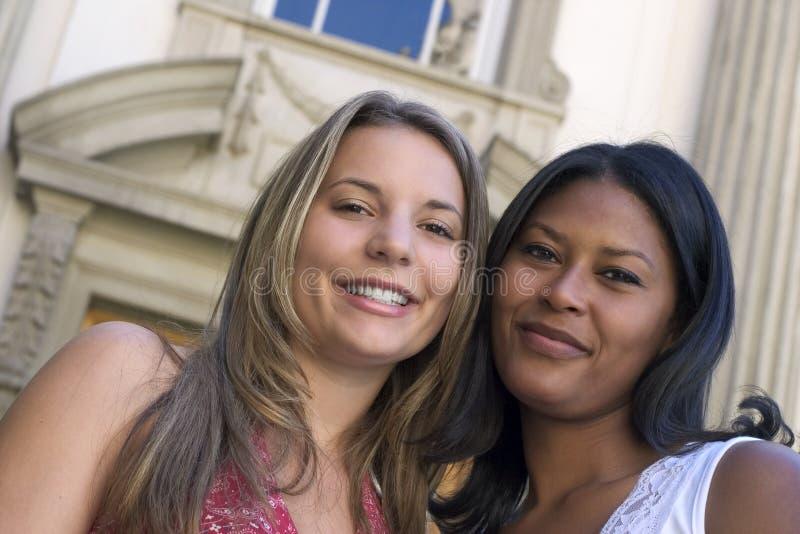 Amigos das mulheres fotos de stock royalty free