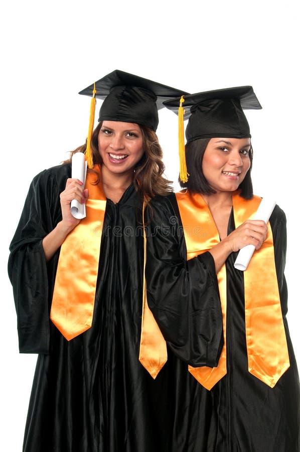 Amigos de la graduación foto de archivo
