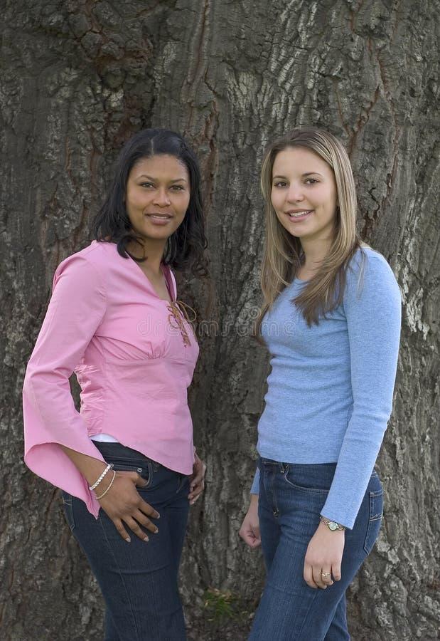 Amigos De Las Mujeres Fotos de archivo