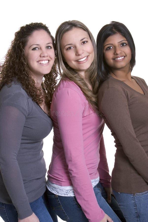 Amigos de meninas imagem de stock