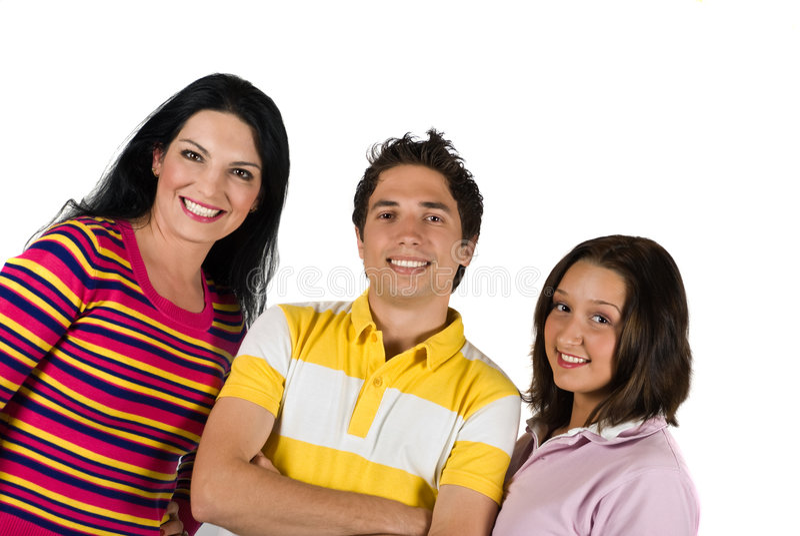 Amigos felizes imagem de stock
