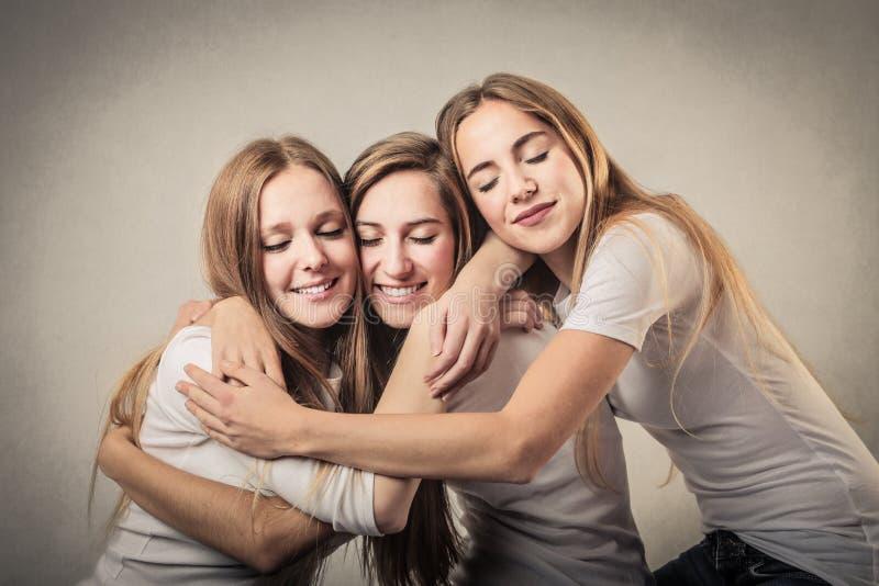 Amigos preciosos fotos de archivo libres de regalías