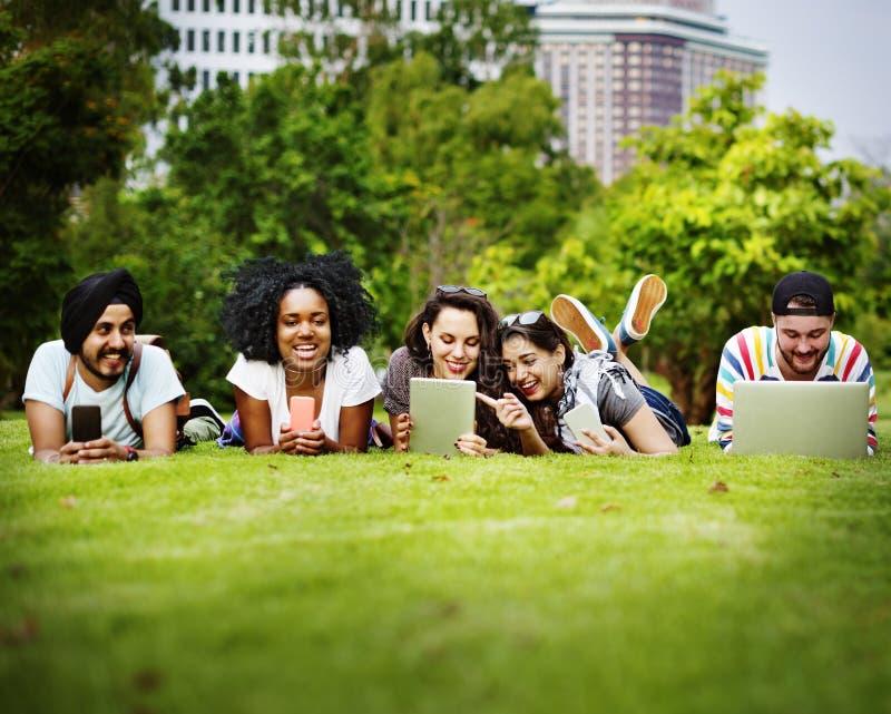 Amigos Team Togetherness Unity Concept de la comunidad de la vinculación fotos de archivo