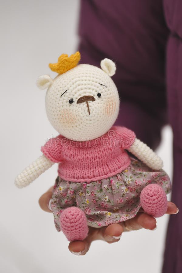 Amigurumi toy  Elephant stock image  Image of figure - 110622373