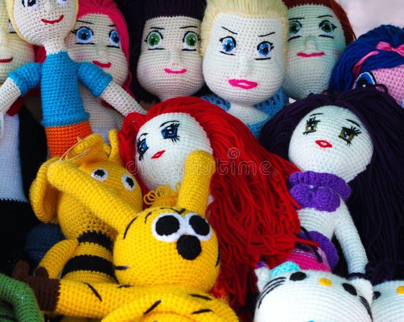 Amigurumi zabawki lala zdjęcie stock