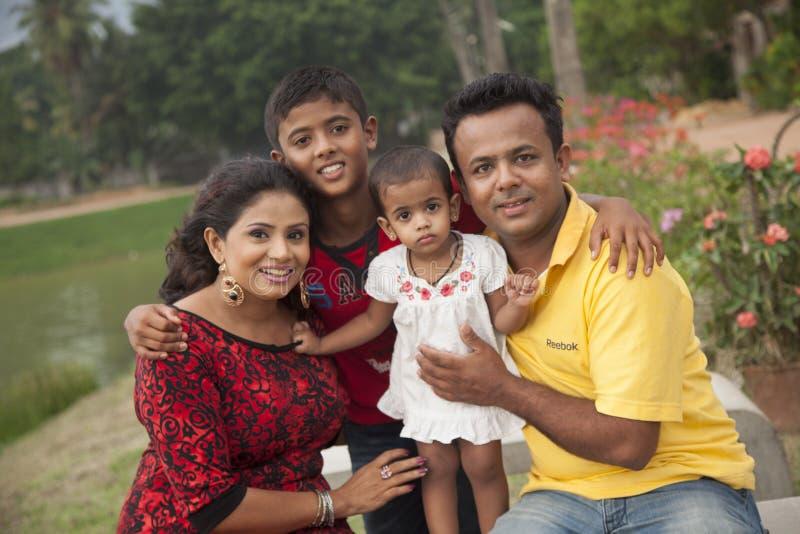 Amila`s family royalty free stock images