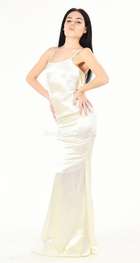 Amincissez et adaptez le concept Mannequin avec le chiffre mince comme résultat de suivre un régime et de forme physique Femme da photos libres de droits