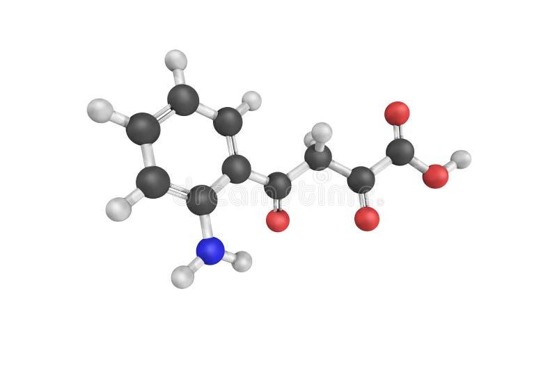 4 (2-aminophenyl) - 2,4-dioxobutanoate, een product van een chemisch product aangaande royalty-vrije stock foto's