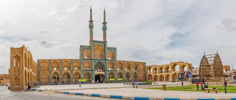 Amir Chakhmaq Complex i Yazd arkivfoto