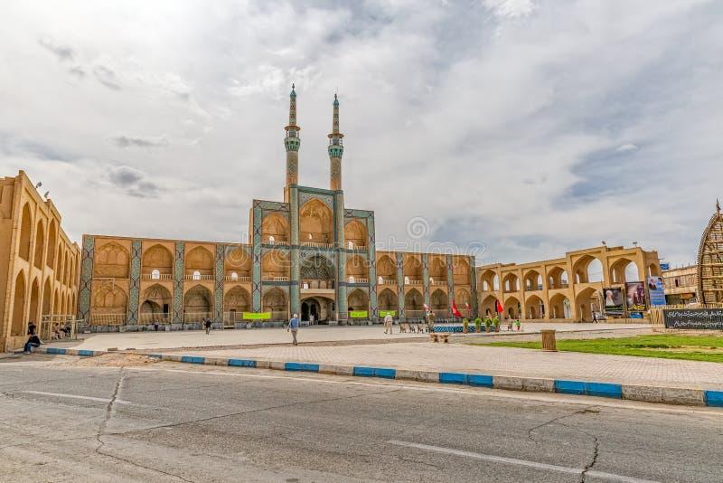Amir Chakhmaq Complex i Yazd royaltyfri bild