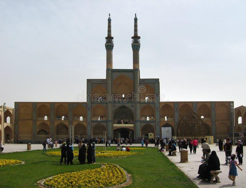 Amir Chakhmaq Complex i Yazd, Iran arkivfoto