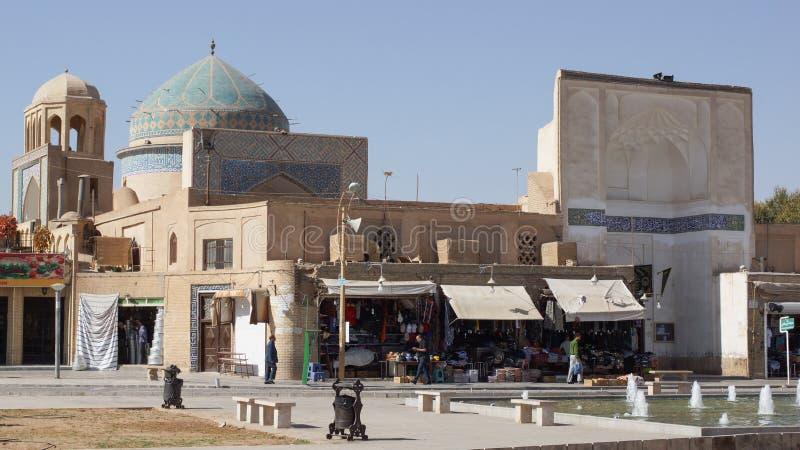 Amir Chaqmaq Mosque Yazd, Iran, Asien royaltyfria foton