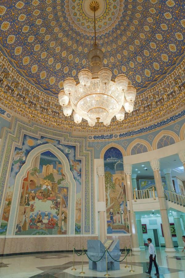 Amir Temur Museum i Tasjkent arkivbild