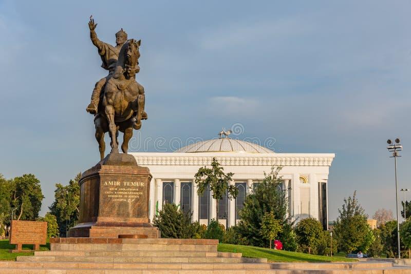 Amir Timur Maydoni, à Tashkent, l'Ouzbékistan image stock