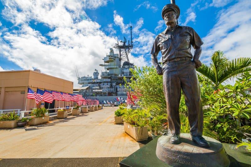 Amiral Chester Nimitz arkivfoton