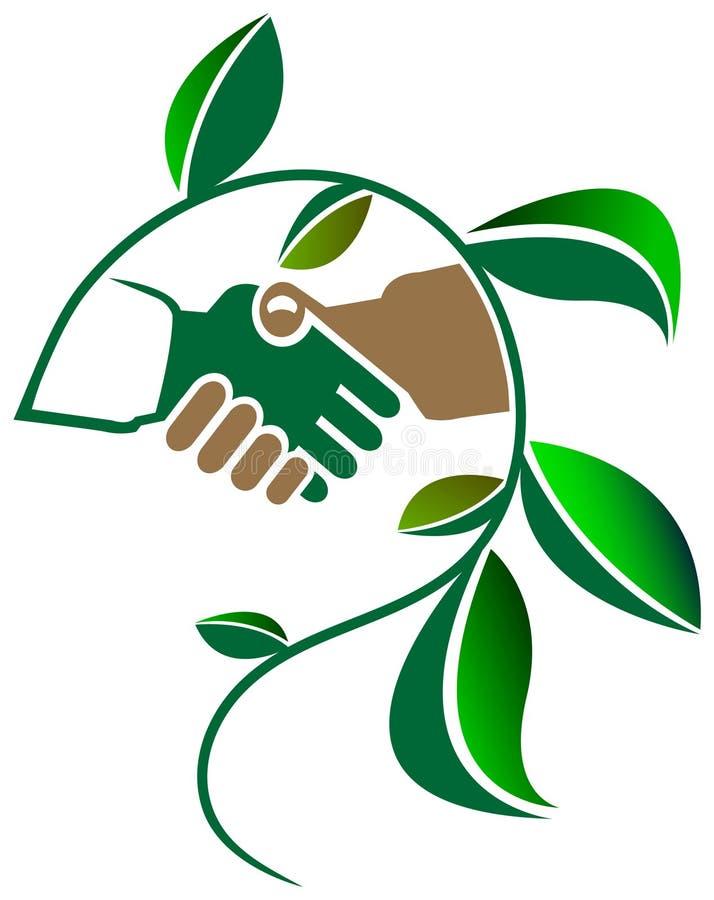 Amis d'Eco illustration stock