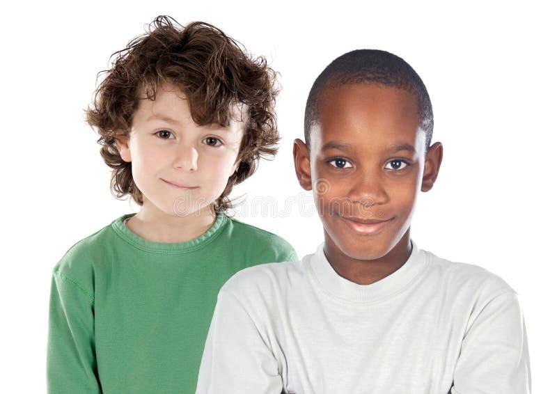 Amis d'enfants photo libre de droits