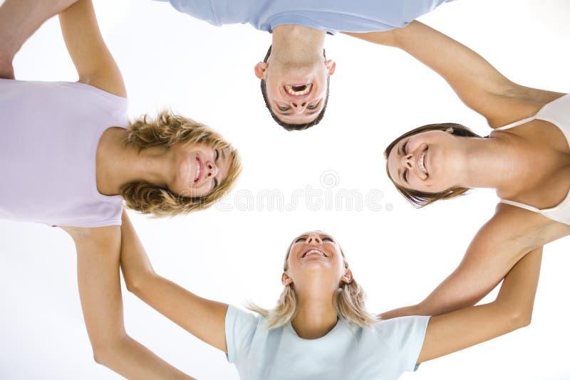 amis de cercle photos stock