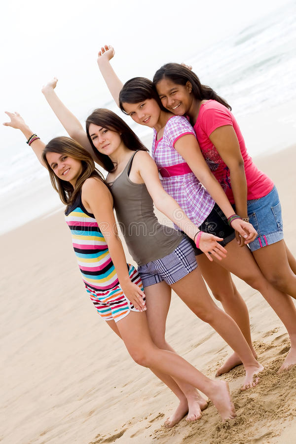 Amis de la jeunesse photo libre de droits